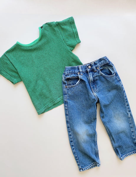 "The ""Easy Like a Sunday Morning"" Outfit Styled 2-Ways / Size 4T"