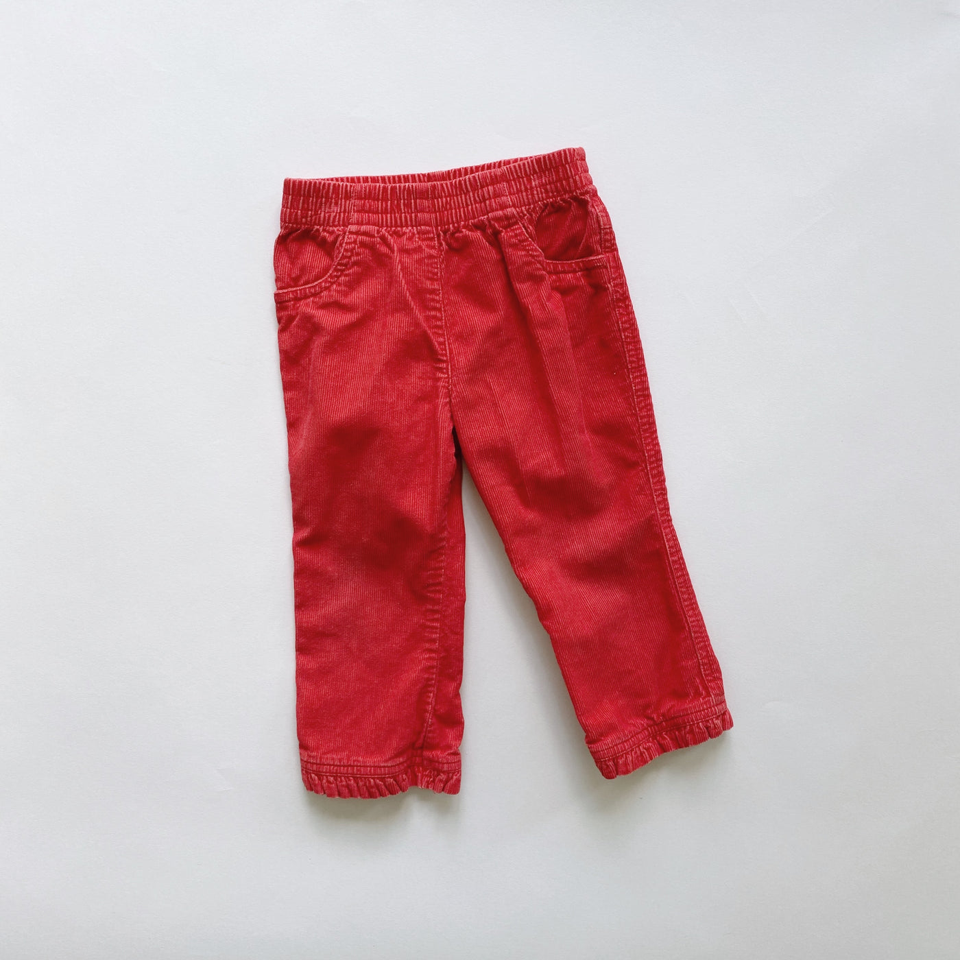 Okie-Dokie Red Cords / Size 2T