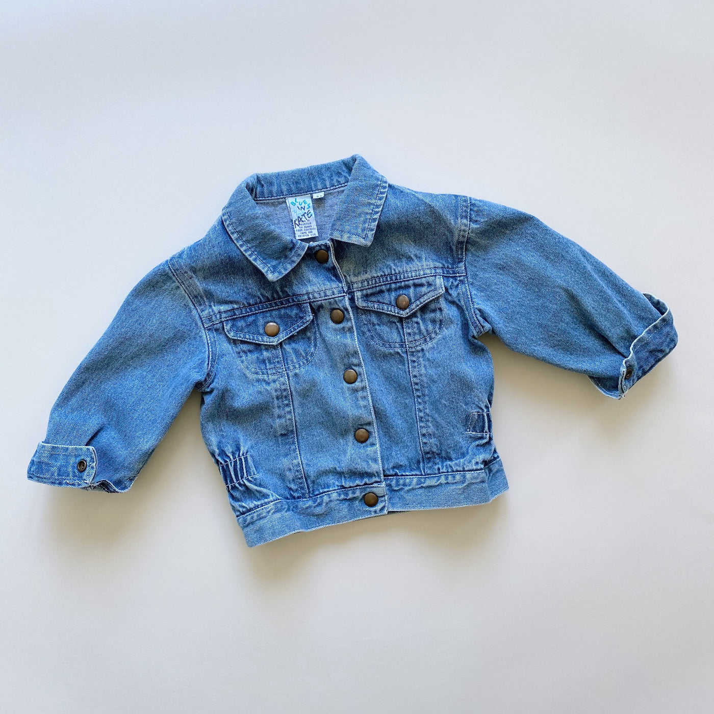 Blues in Motion Jean Jacket / Size 3T