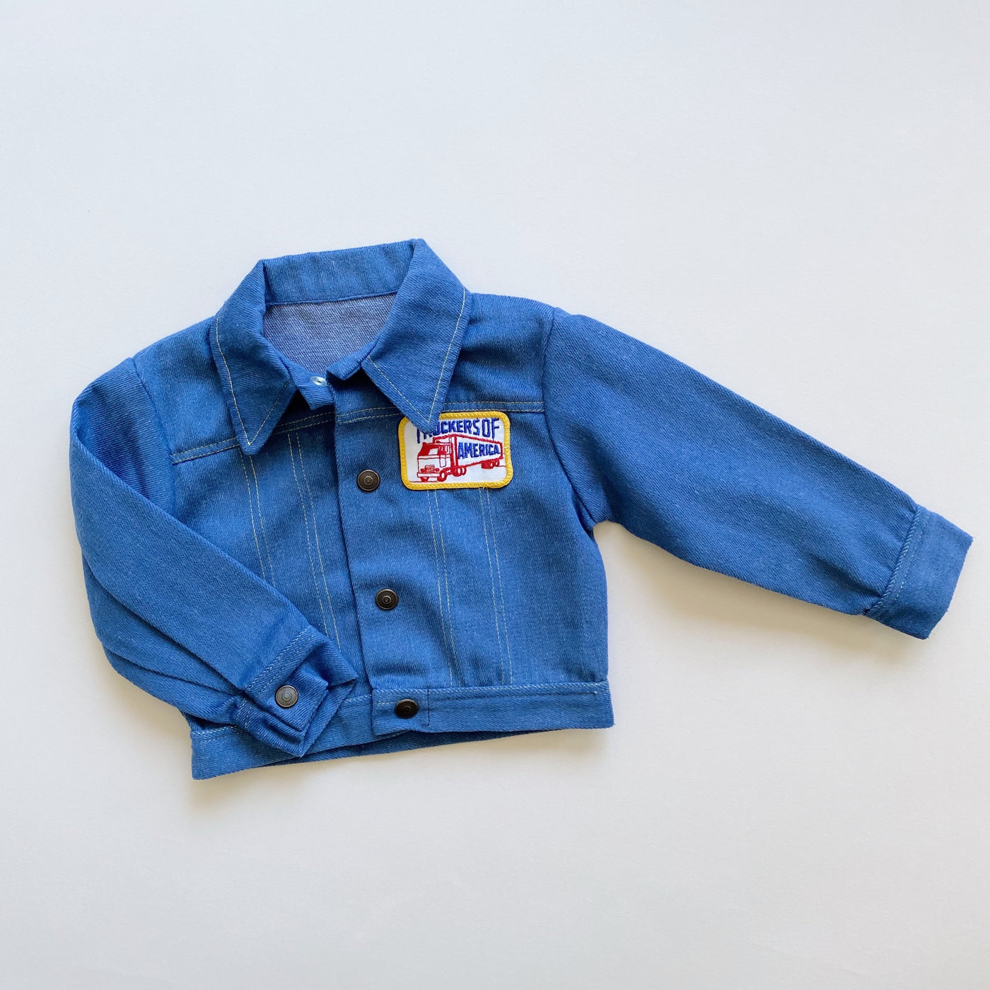 Vintage Truckers of America Denim Jacket / Size 3T
