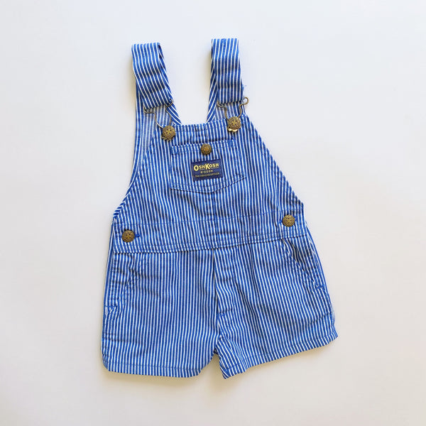 OshKosh Engineer Stripe Shortalls / Size 3T