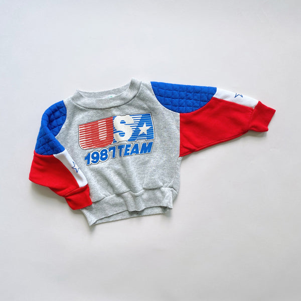 "The ""America Strong"" Vintage Sweatshirt  / Size 2T"