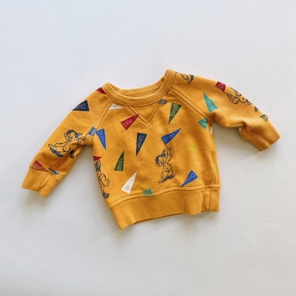 "The ""Back in the Dorm & Rooming with an Infant"" Sweatshirt / Size 3-6M"