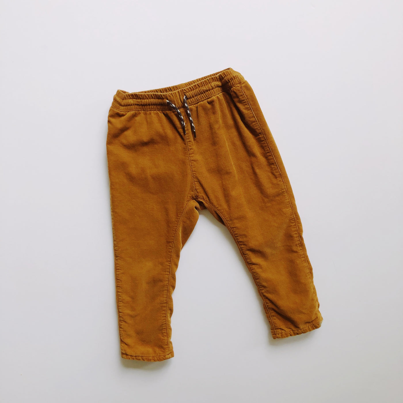 Walnut Skinny Fit Fully Lined Corduroy Pants / Size 2T