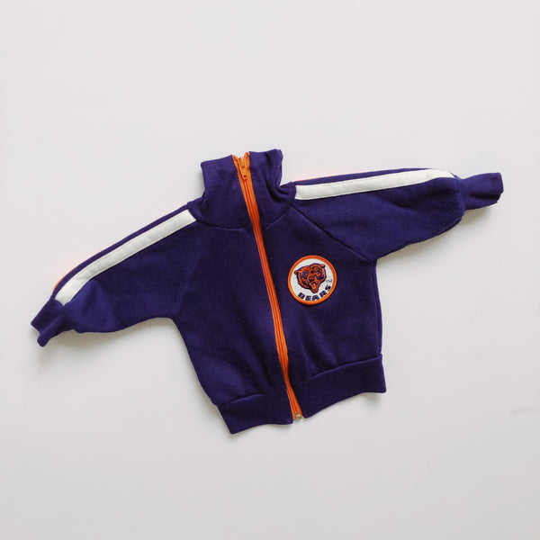 Vintage Chicago Bears Zip Up / Size 12-18M