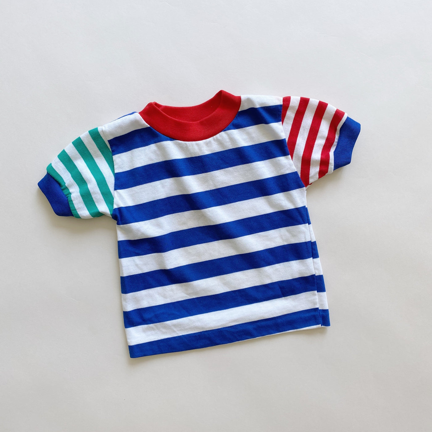 Vintage Health-tex Striped Tee / Size 24M