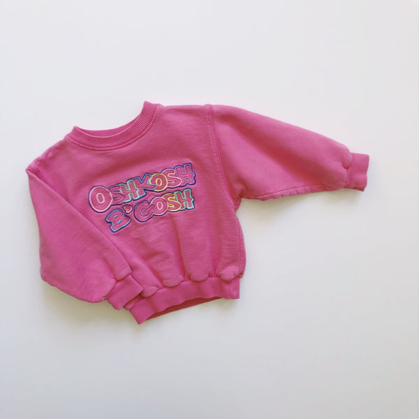 "The ""B'gosh I'll Finally Get to Organize That Junk Drawer"" Vintage Sweatshirt / Size 12-18M"