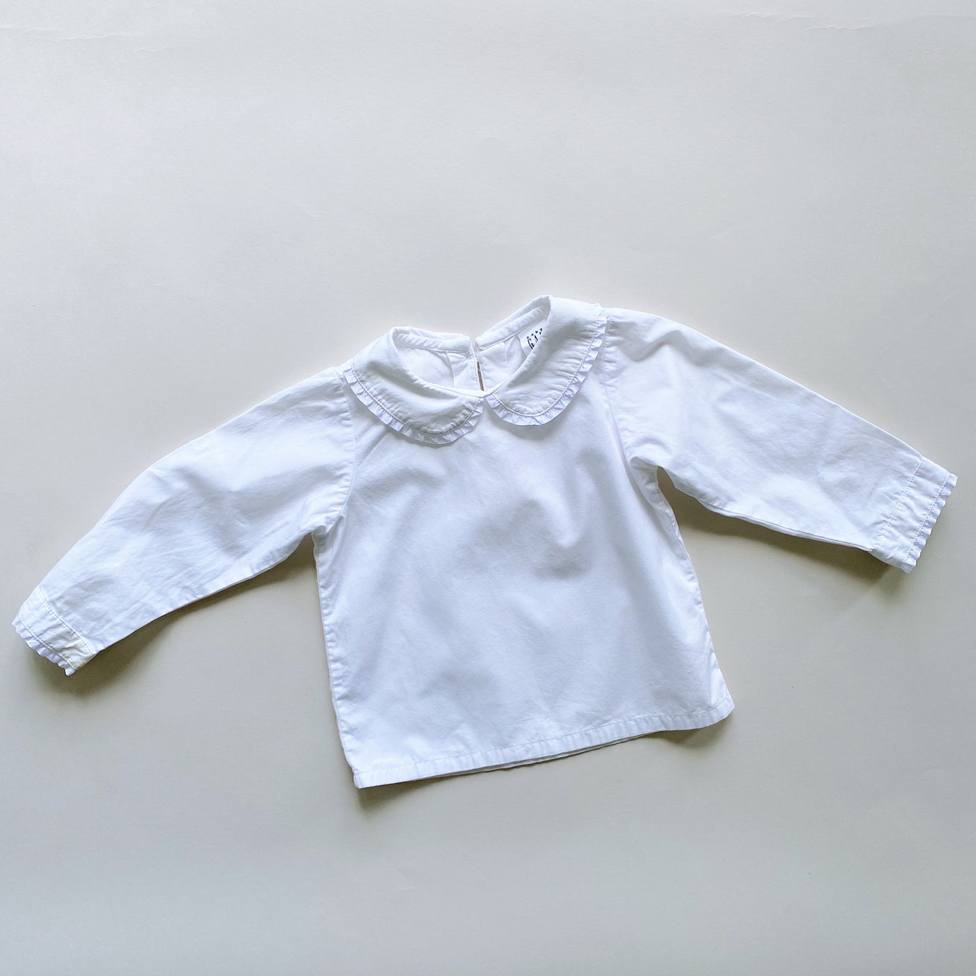 Baby Gap Simple White Top / Size 18-24M