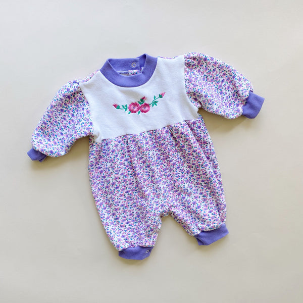 "The ""Night to Day and Back to Night Again"" Romper / Size 6-9M"