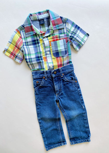 "The ""Lee Dream Jean"" Outfit Styled 2-Ways / Size 3T"