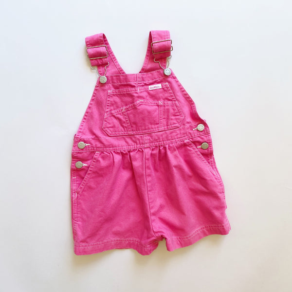 Hot Pink OshKosh Shortalls / Size 3T