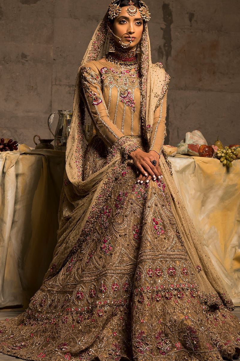 STY-PM-FF-TMCB-18-05 Bridal Pakistani Gown