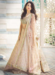 Exclusive Heavy Designer Beautiful Cream Color Bridal Lehenga Choli - Stylizone