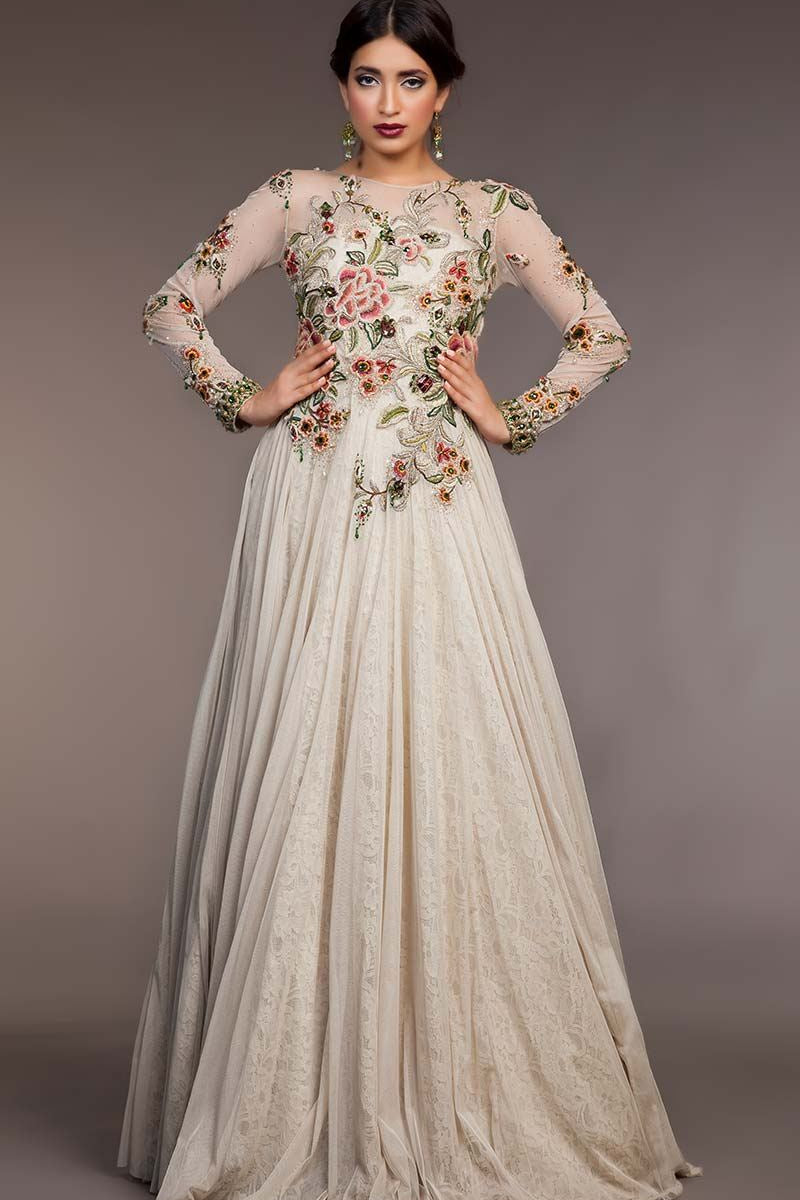 STY-FHC-DS15-NC09 Bridal Pakistani Gown