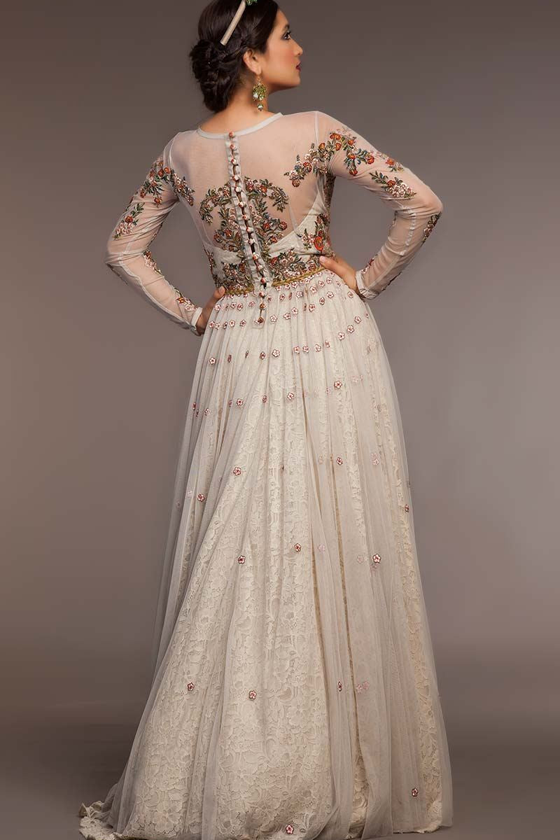 STY-FHC-DS15-NC07 Bridal Pakistani Gown