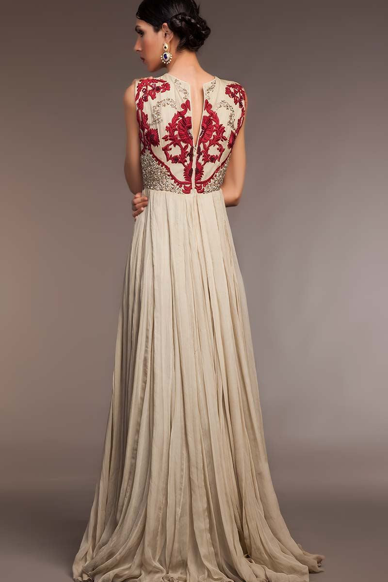 STY-FHC-DS15-NC08 Bridal Pakistani Gown