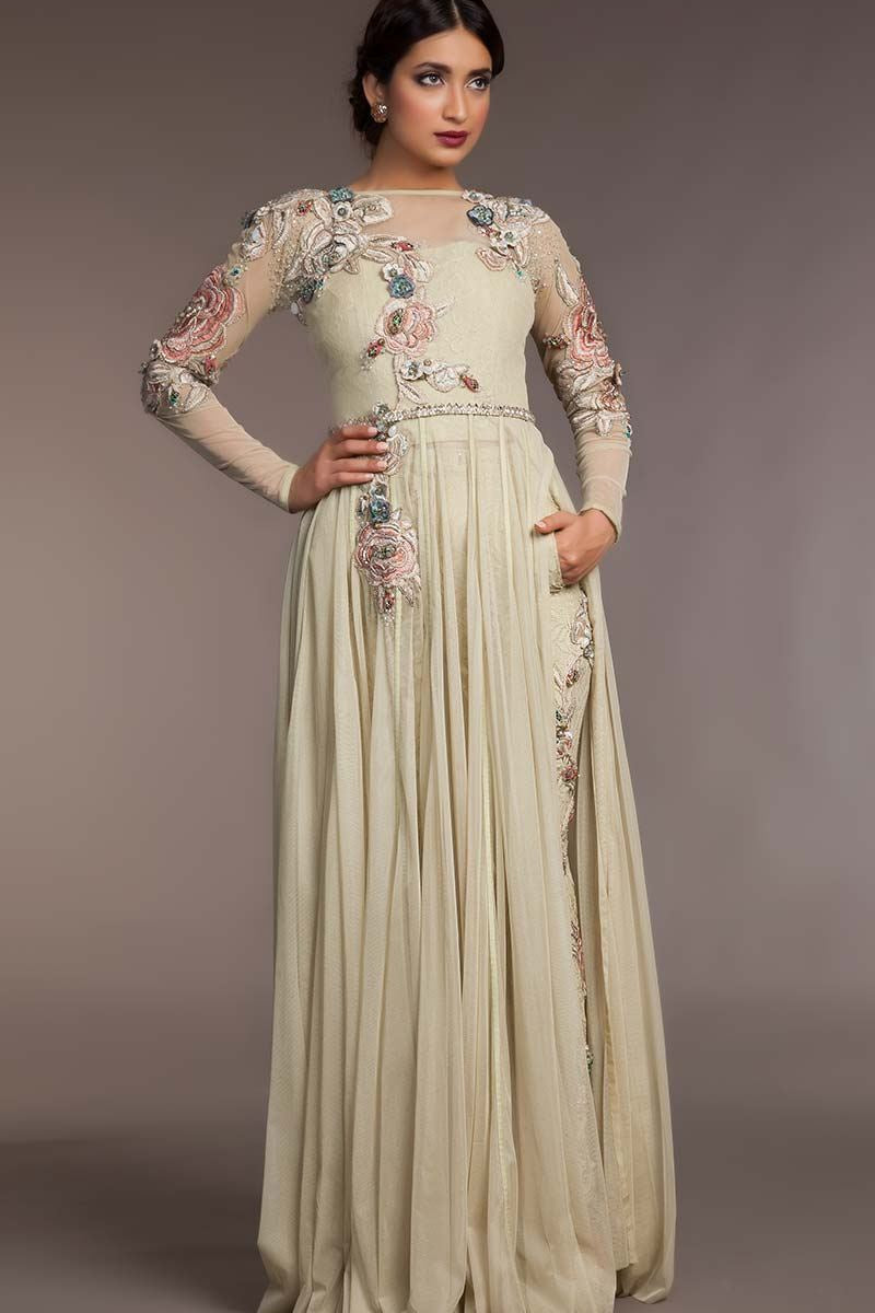 STY-FHC-DS15-NC010 Bridal Pakistani Gown