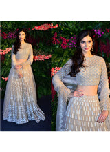 Load image into Gallery viewer, Exclusive Heavy Designer Beautiful Dull White Color Party Wear Lehenga Choli - Stylizone