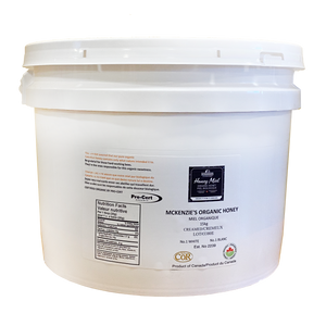 15 Kg Organic Creamed Honey