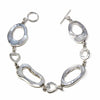 Mother-of-Pearl Ring Link Bracelet