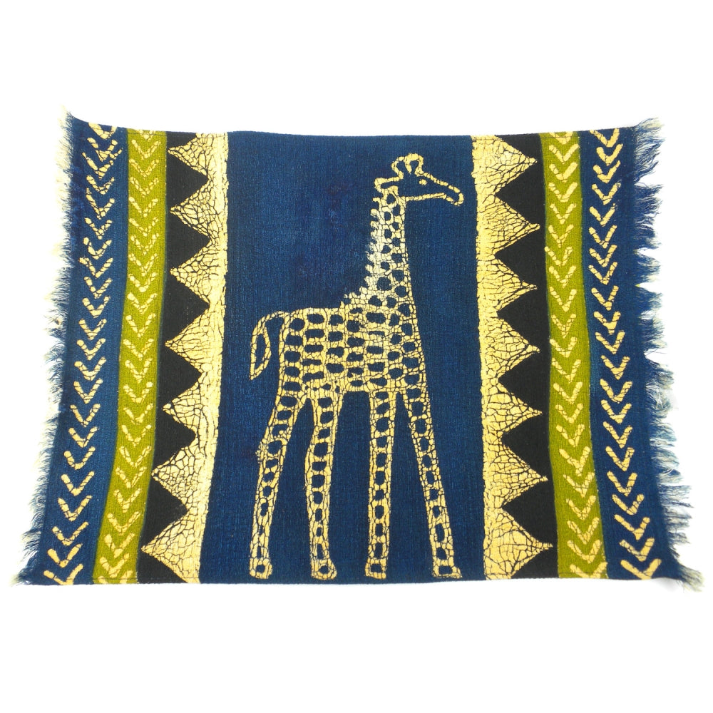 Green Giraffe Placemat
