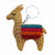 Hand Crafted Felt from Nepal: Key Chain, Tan Llama