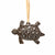 Turtle Design Steel Drum Ornament