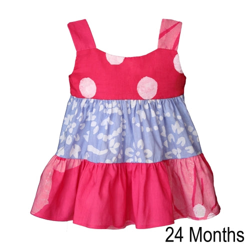 Gypsy Dress Patchwork Primrose 24M