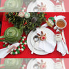 Christmas Santa Napkin Rings, Set of 4