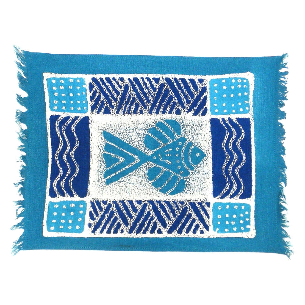 Blue Fish Placemat