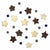Stars Felt Garland Kids' Room Décor, Blue/Grey