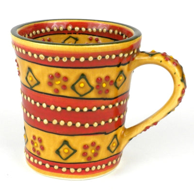 Flared Coffee Mug, Mas Red - 10 oz.
