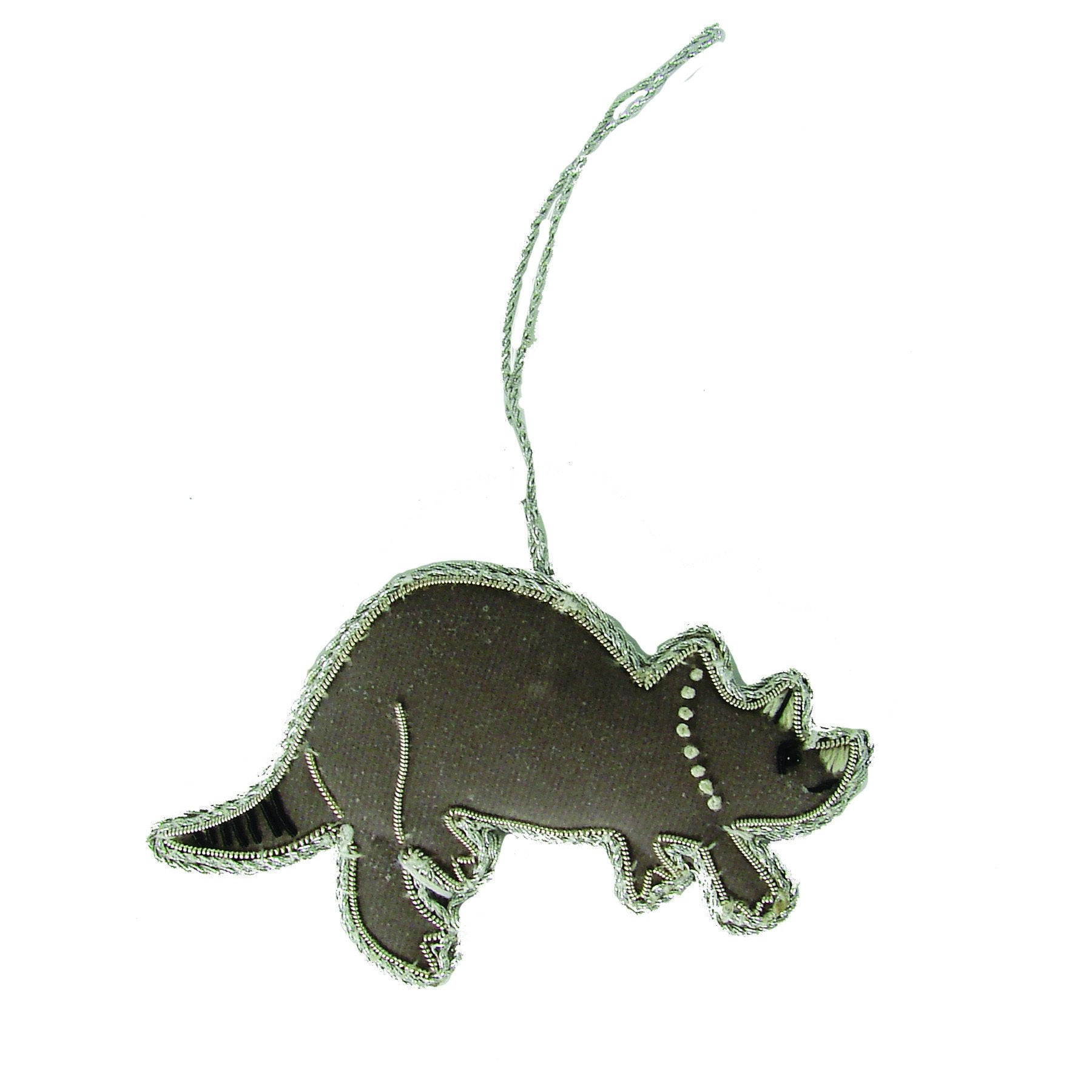 Triceratops Holiday Ornament