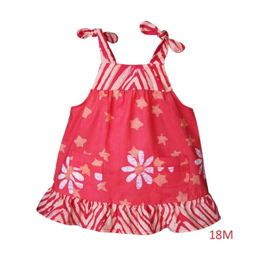 Baby Pocket Dress Payaya Daisy Star 18 M