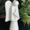 Angel Soapstone Sculpture with Eternal Light