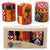Hand-Painted Votive Candles, Boxed Set of 3 (Damisi Design)