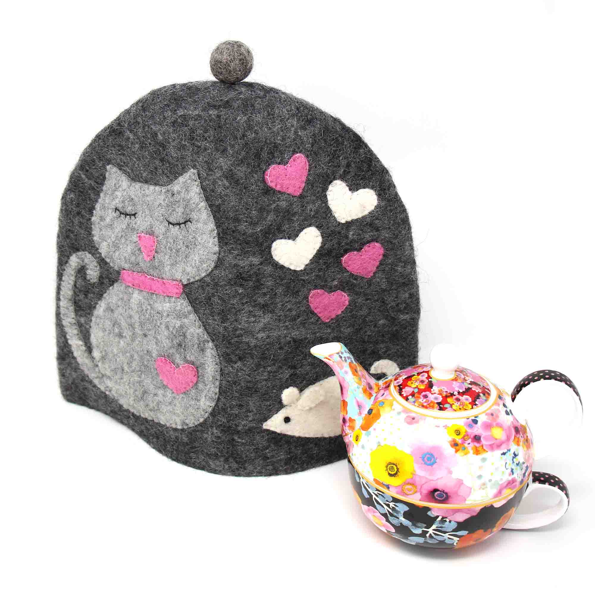 Kitty Cat Tea Cozy