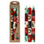 Christmas Hand-Painted Dinner Candles, Set of 3 (Ukhisimusi Design)