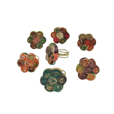 Kantha Bouquet Ring