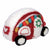 Ornament: Retro Camper, Red