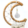 Macrame Dreamcatcher - Small Moon