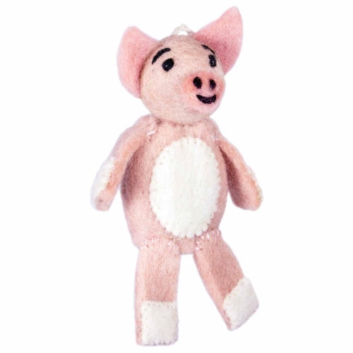 Woolie Finger Puppet - Patty Pig