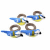 Blue Birds Felt Napkin Rings, Set of 4