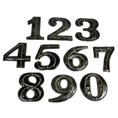Haitian Metal Art Numbers