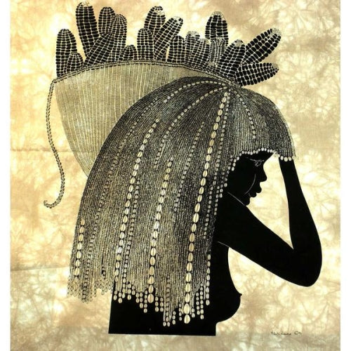 "Heidi Lange ""Girl from the Shamba"" Screen Print"