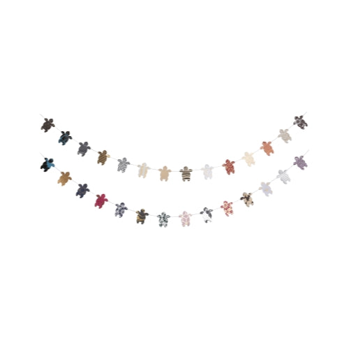 Metallic Cotton Turtle Garland