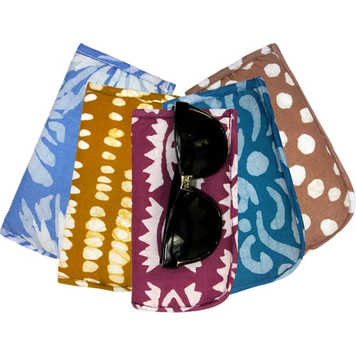 Batiked Glasses Case Assorted