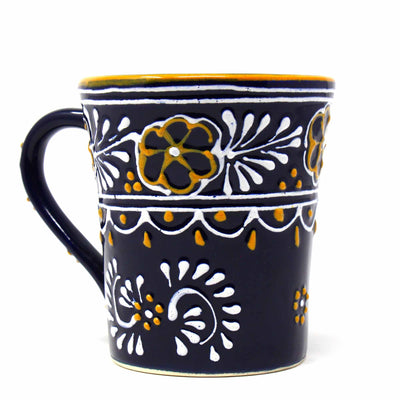 Flared Coffee Mug, Blue - 10 oz.