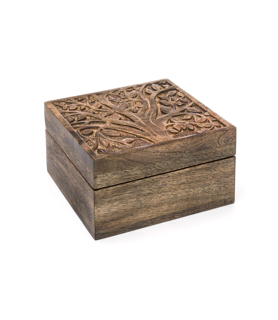 Aranyani Mango Wood Compartment Box