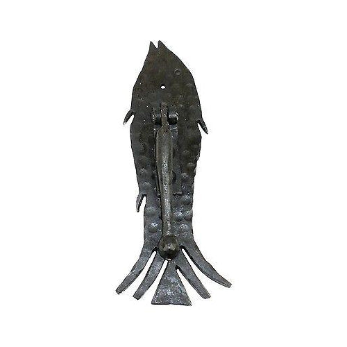 Handmade Iron Fish Door Knocker
